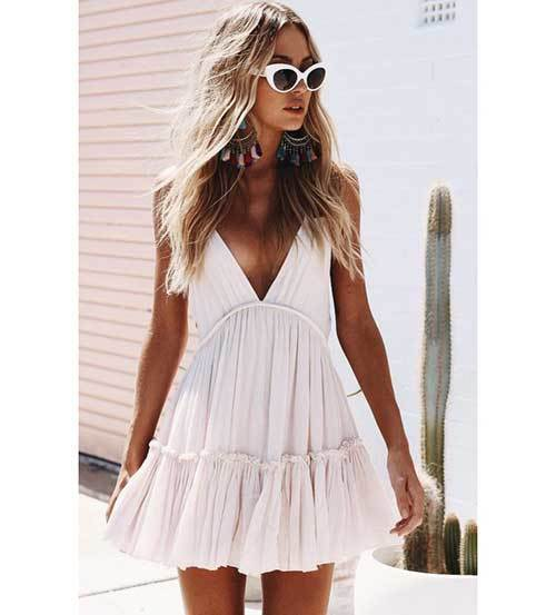 Summer All White Outfits for Women