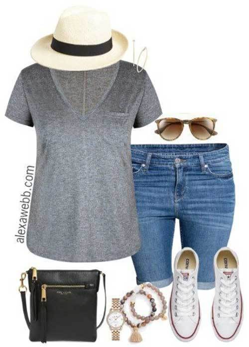 Summer Shorts Outfits for Women
