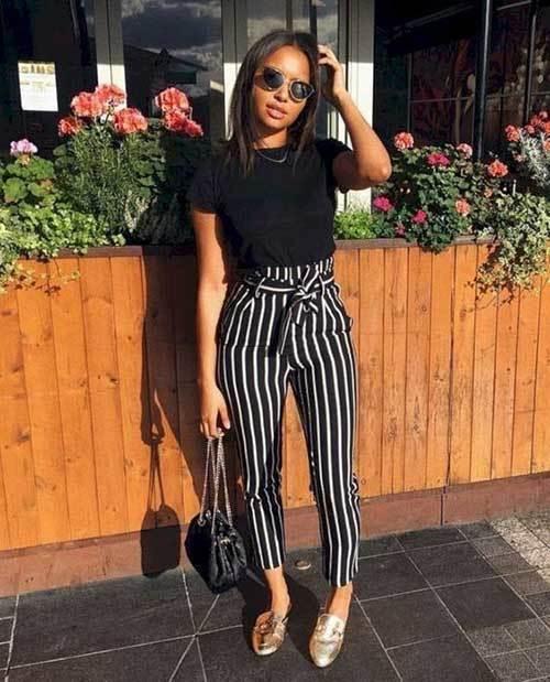 Black and White Spring Fashion Ideas