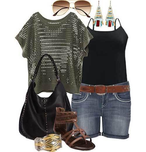 Cute Boho Summer Plus Size Outfits