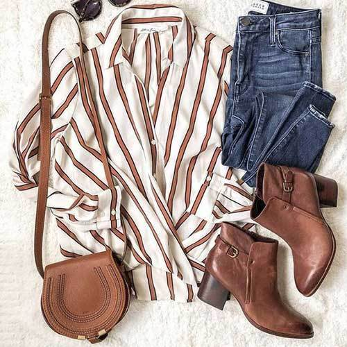 Cute Casual Brown Outfits
