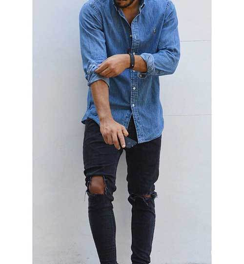 Casual Denim Outfits for Men