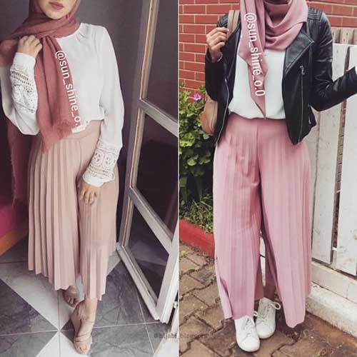 Cute Casual Hijab Outfits