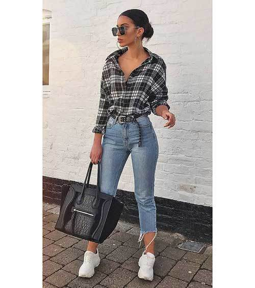 Cute Casual Plaid Outfits