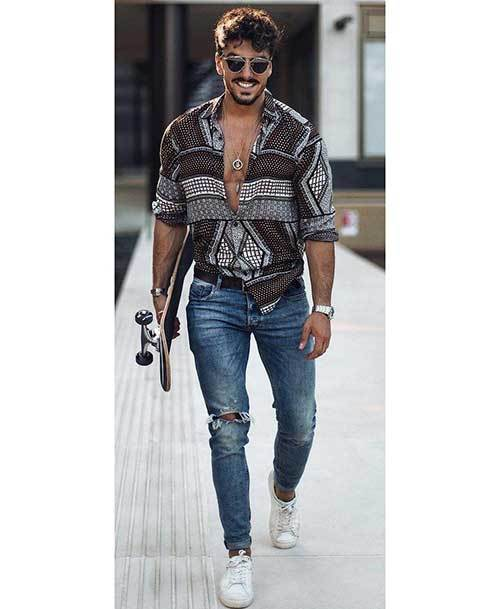 Casual Street Outfits for Men