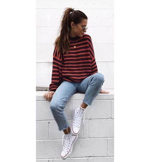 Cute Casual Striped Outfits