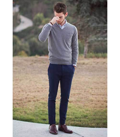 Casual Work Outfits for Men