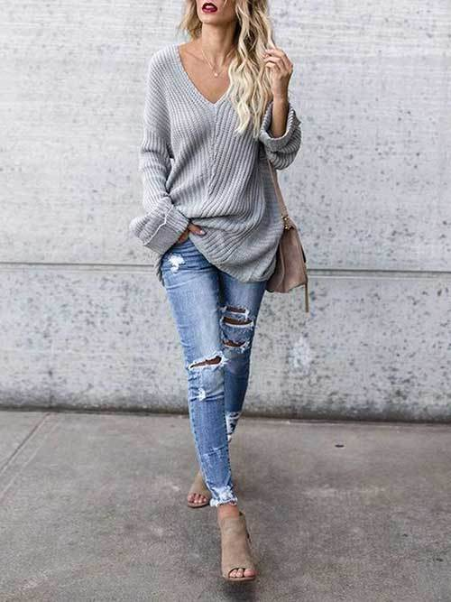 Comfy Fall Outfit Ideas 2019