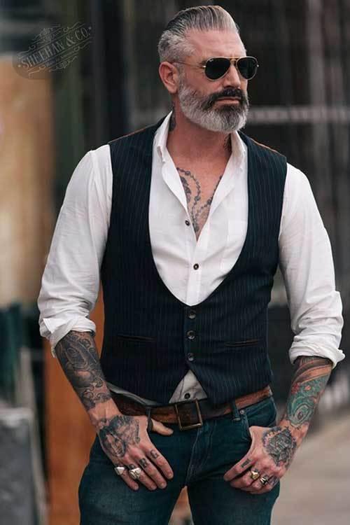 Men rock outfit Men's Urban