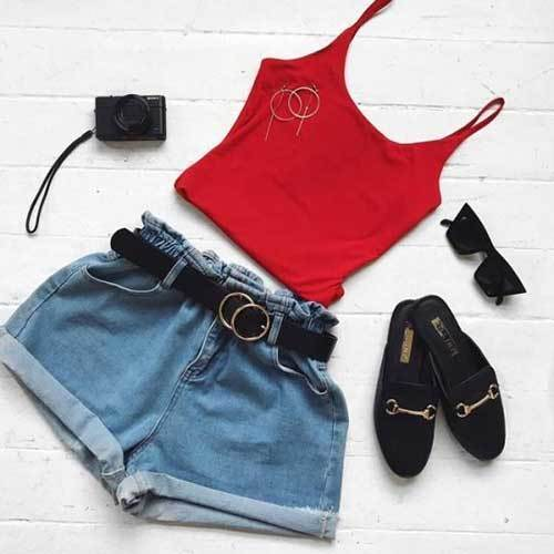 Cute Denim Jeans for Ladies