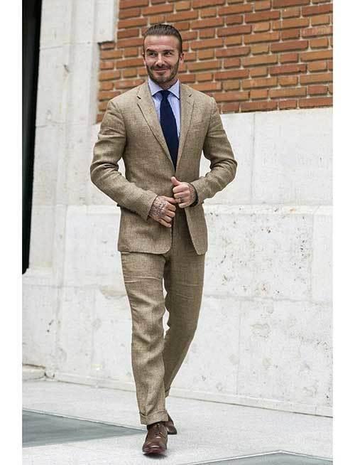 David Beckham Business Casual Outfits