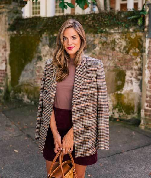 Fall Blazer Outfit Ideas 2019