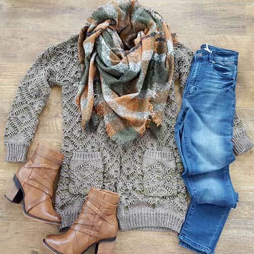 Fall Brown Outfit Ideas 2019