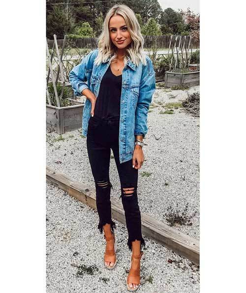 Fall Denim Outfit Ideas 2019