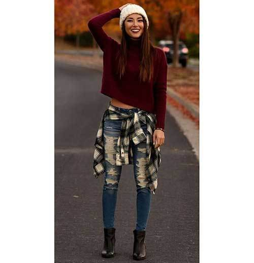 Fall School Outfit Ideas 2019