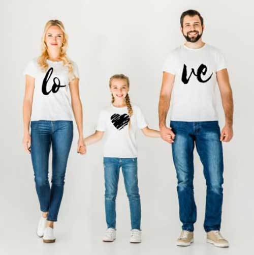 Family Portrait Love Outfit Ideas