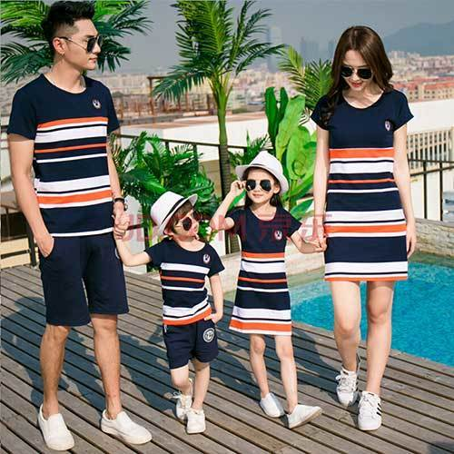 Family Portrait Summer Outfit Ideas