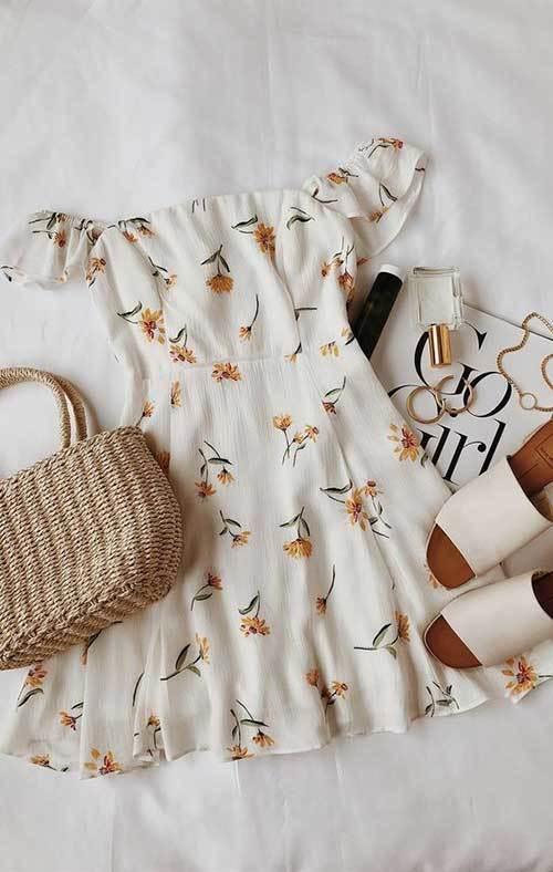 Flowered Spring Fashion Ideas