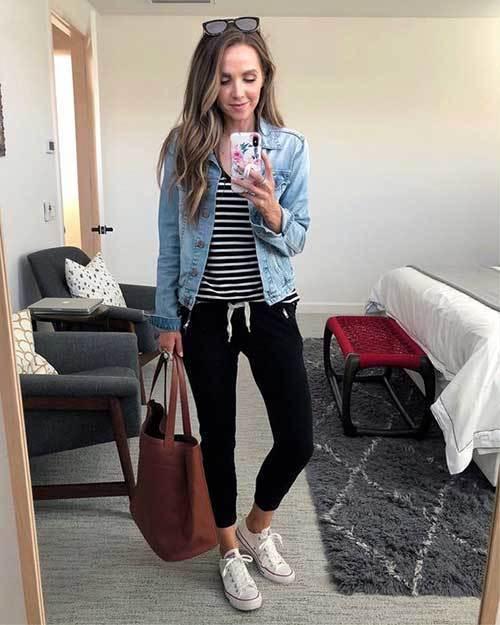 Jean Jacket Denim Jeans for Ladies
