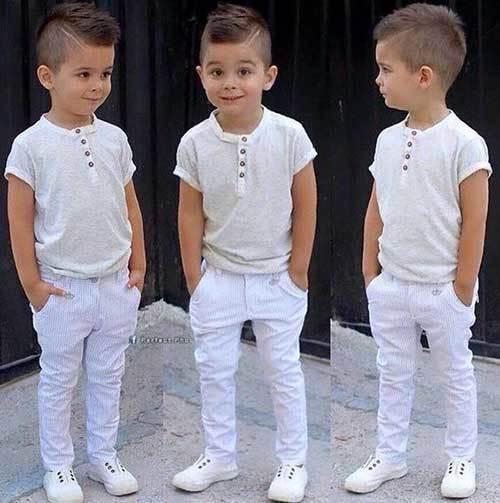 Little Kid All White Outfits