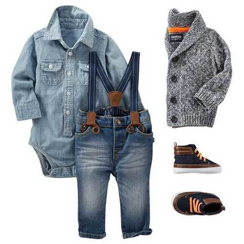 Little Kid Denim Outfits