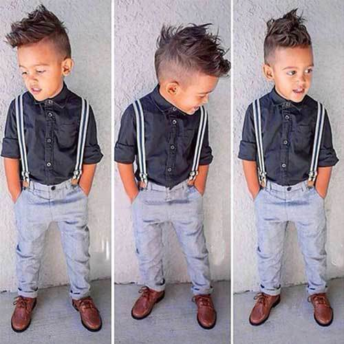 Little Kid Outfits with Suspenders