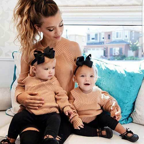 Matching Mom and Baby Outfits