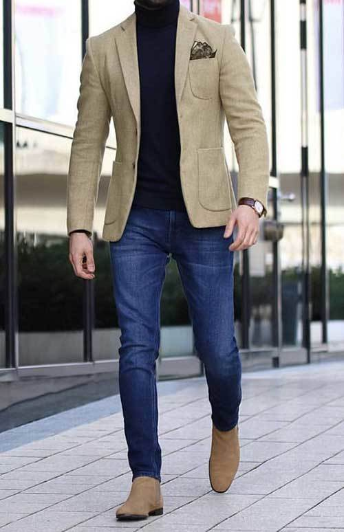 Business Elegant Outfits Male