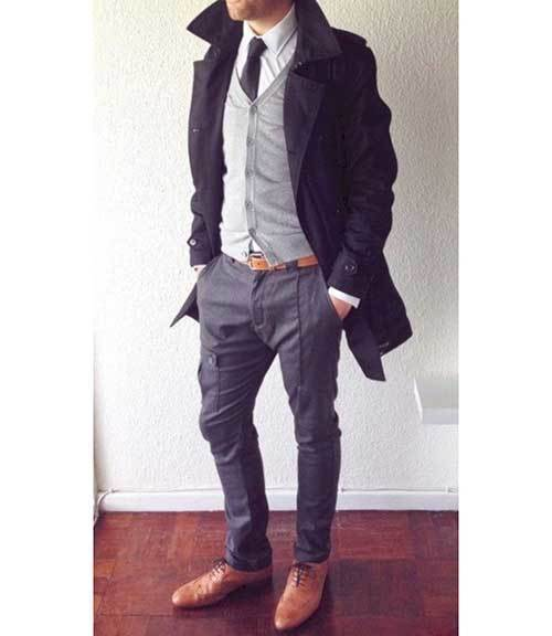 Business Relaxed Outfits Male