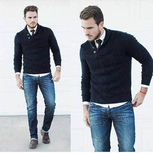 Business Winter Outfits Male