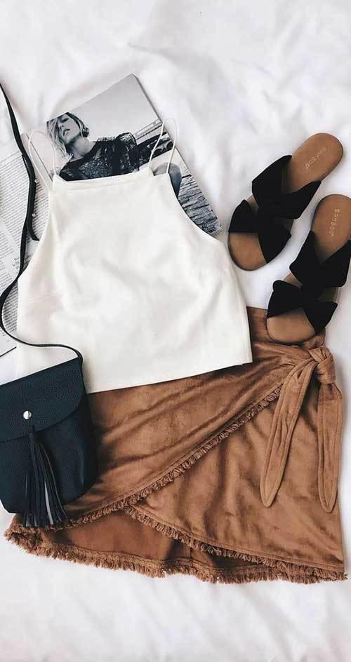 Mini Skirt Spring Fashion Ideas