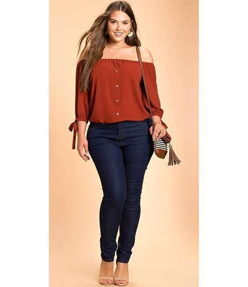 Cute Plus Size Fit Outfits