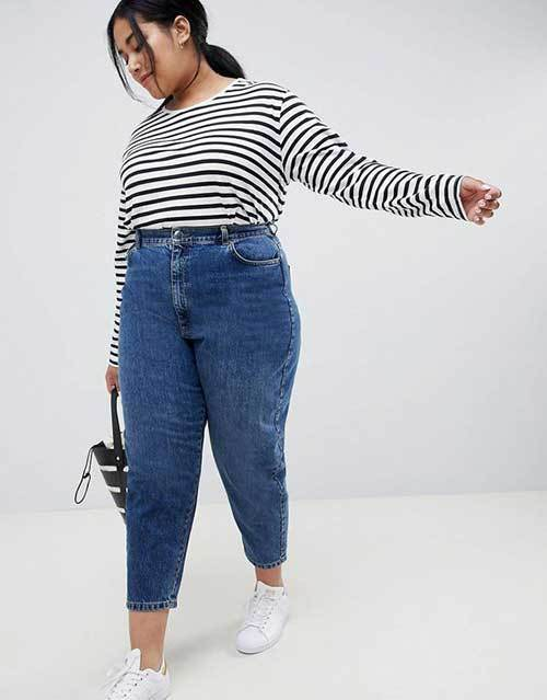 Cute Plus Size Jeans Outfits