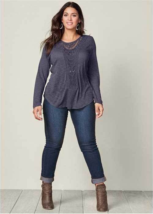 Cute Plus Size Long Outfits