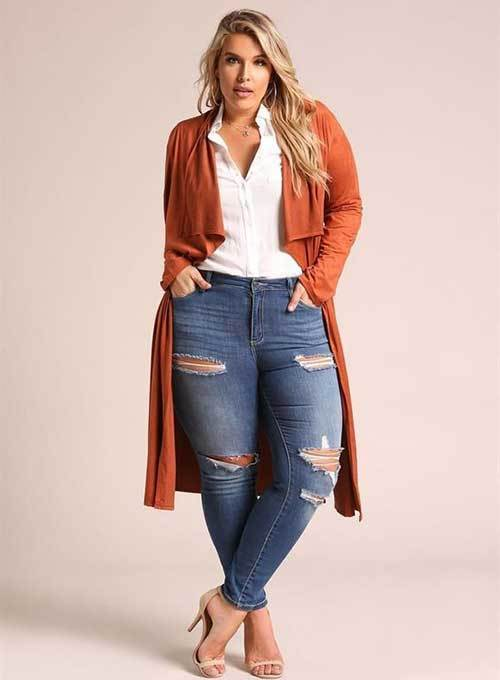 Cute Plus Size Night Outfits