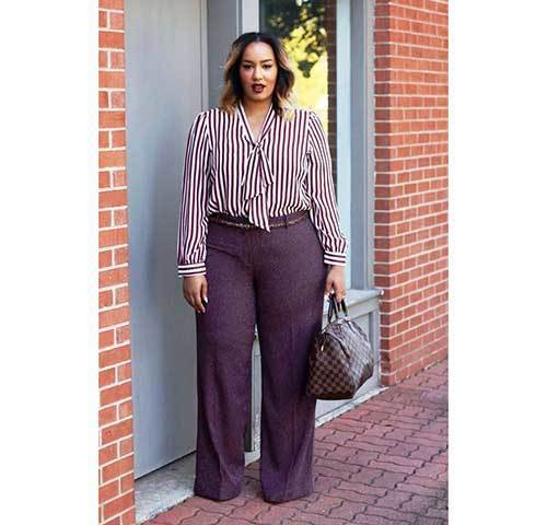 Cute Plus Size Professional Outfits