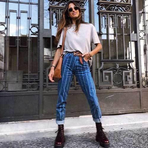 Stylish Denim Jeans for Ladies