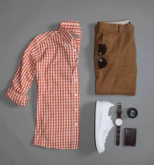 Latest Checkered Shirts for Men