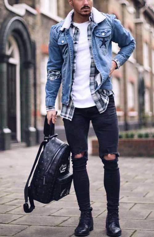 Latest Denim Jacket Outfits