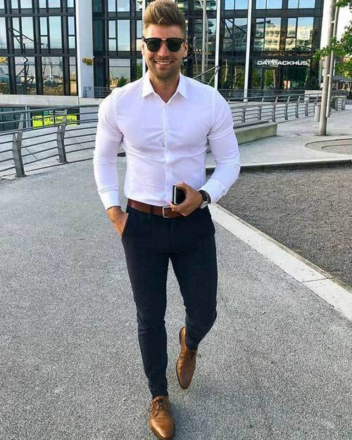 Latest Oxford Shoes Outfits for Men