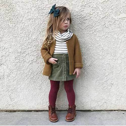 Little Girl Winter Outfits