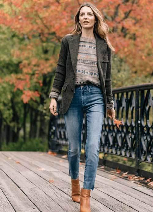 Women Casual Fall Outfits 2019