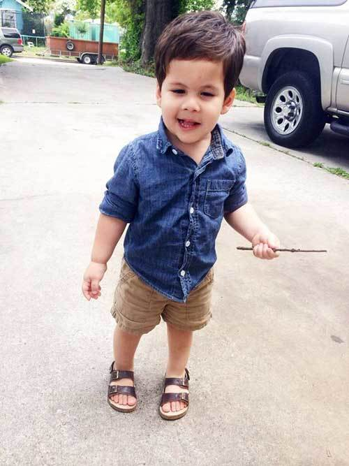 Little Boy Shorts Outfits