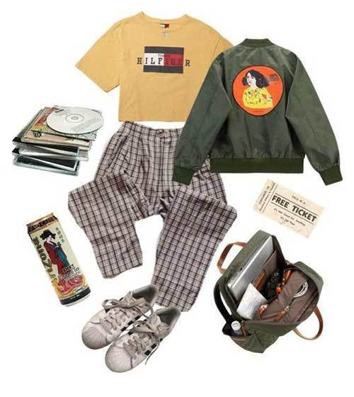 Aesthetic 90S Inspired Outfits