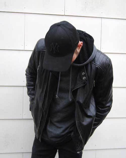All Black Casual Outfits for Guys