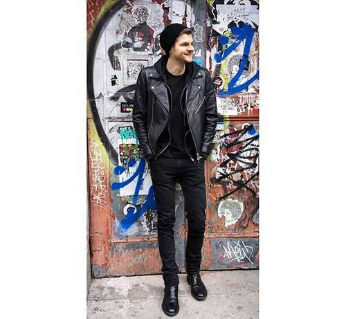 All Black Outfit Ideas for Guys