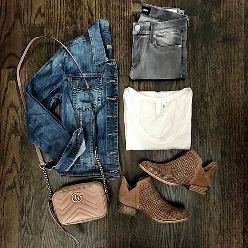 Grey Pants Outfit Ideas
