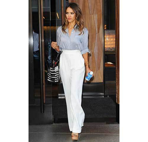 Celebrity Pants Outfit Ideas