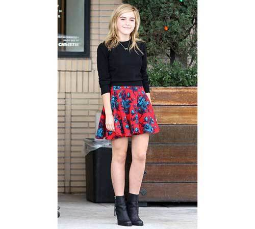 Celebrity Skirt Outfit Ideas