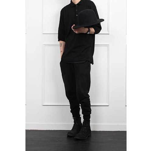 Chic All Black Outfits for Guys